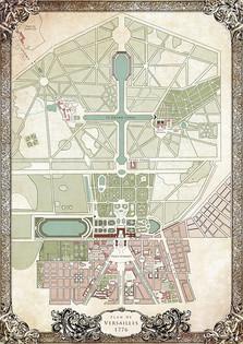 plan château de versailles