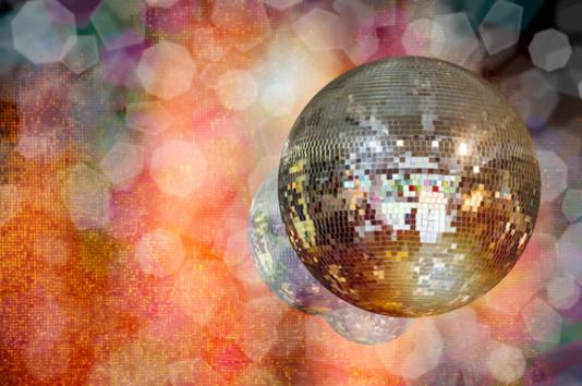 boule disco discothèque