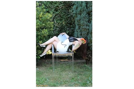 Stella tanagra - chaise en extérieur