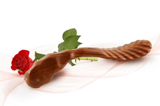 Sextoy Sabot de vénus - bois naturel