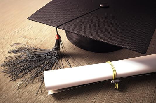 diplôme salope - chapeau noir