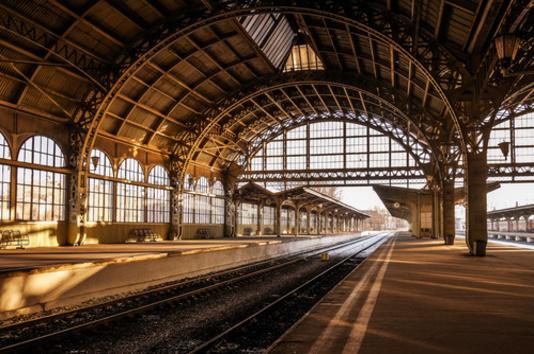 quai d'une gare