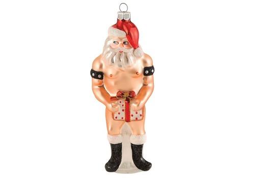 père noël coquin décoration de Noël