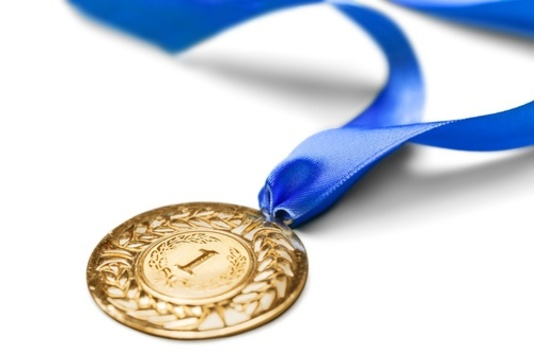 médaille d'or du meilleur baiseur