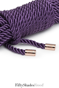corde de bondage violette