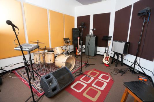 studio d'enregistrement pour la musique