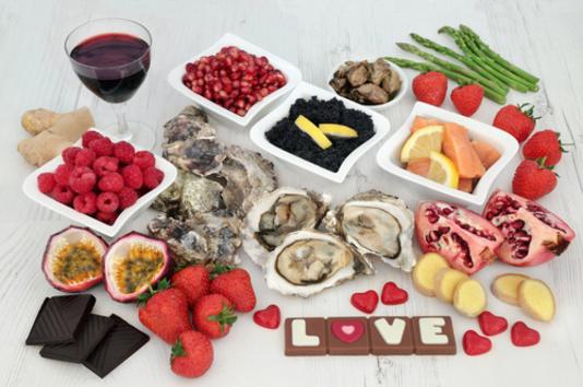 nourriture aphrodisiaque - jeu du goût