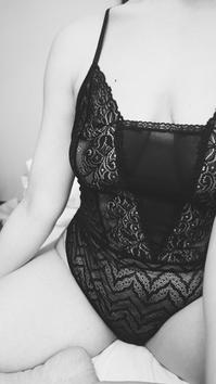 femme en body dentelle